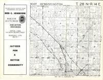 Root, Washington T28N-R14E, Adams County 1962